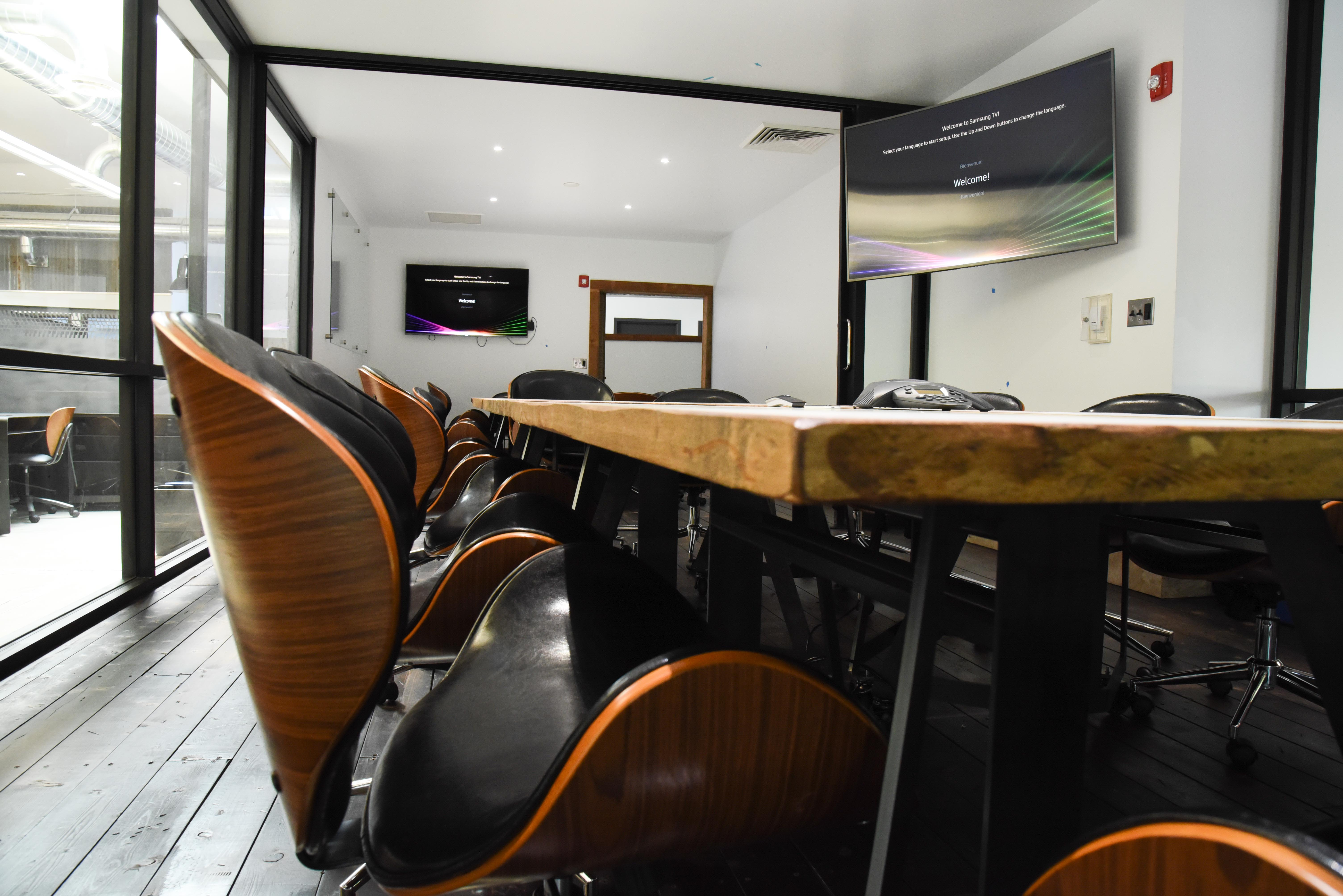Apart From Our 175 Person Event Space, Our Coworking Space Has Three State  Of The Art Conference Rooms With Flat Screen TVs, Beautiful Workspace, ...